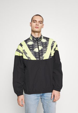 GRAPHICS SPORT INSPIRED TRACK TOP - Verryttelytakki - black