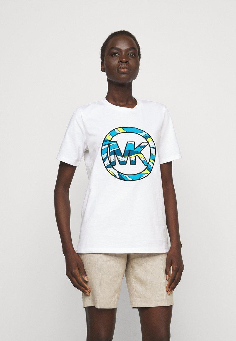 MICHAEL Michael Kors - GRAPHIC  - Print T-shirt - white