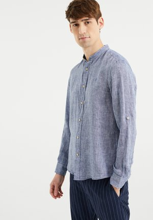 SLIM FIT - Shirt - greyish blue