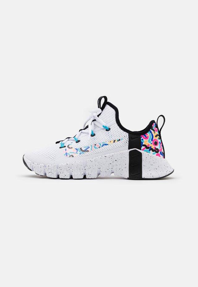 FREE METCON 3 - Sportovní boty - white/baltic blue/pink blast/black