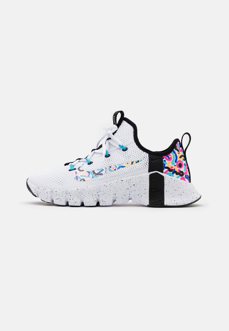 Nike Performance - FREE METCON 3 - Sports shoes - white/baltic blue/pink blast/black