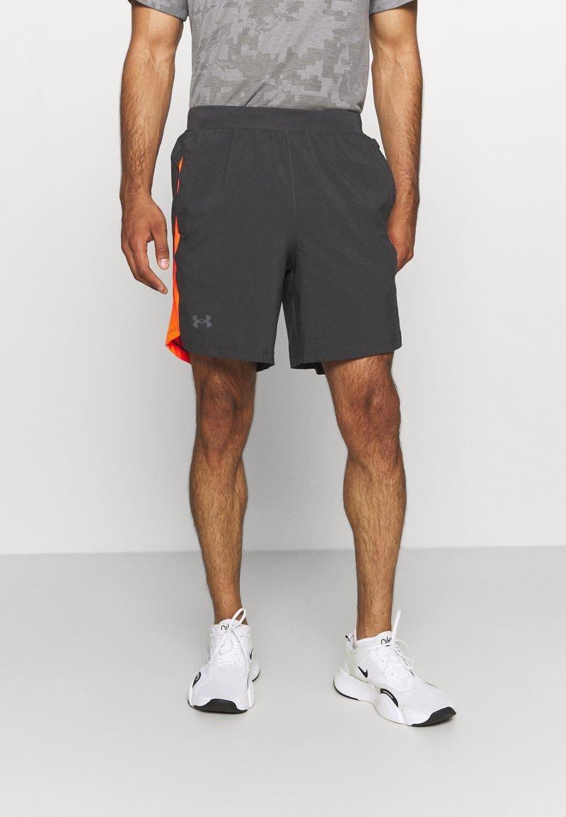 Under Armour - LAUNCH SHORT - Pantaloncini sportivi - grey