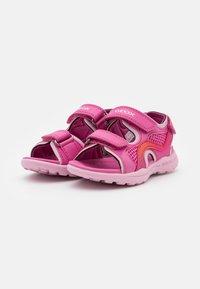 Geox - VANIETT GIRL - Chodecké sandály - fuchsia/pink - 1