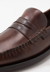 Sebago - DAN WAXY - Smart slip-ons - brown cinnamon - 5