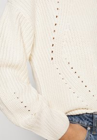New Look Petite - FASHIONED JUMPER - Jumper - off-white - 5