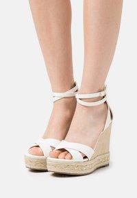 Tata Italia - Platform sandals - white - 0