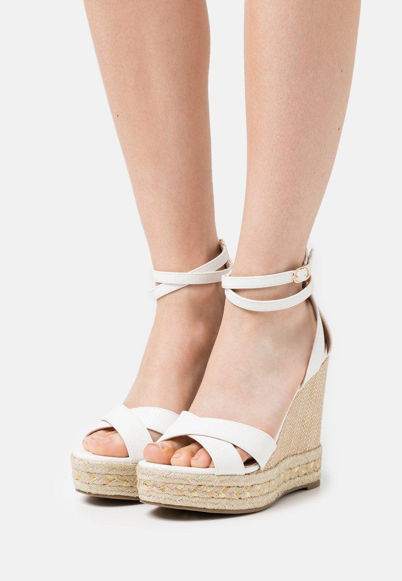 Tata Italia - Platform sandals - white
