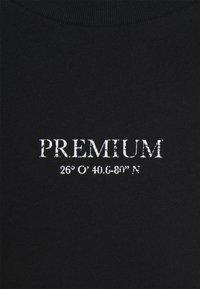 Jack & Jones PREMIUM - JPRBLAGEO BOX FIT TEE - Print T-shirt - black - 2