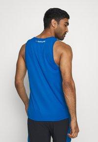 Tommy Hilfiger - TRAINING TANK LOGO - Sports shirt - blue - 2