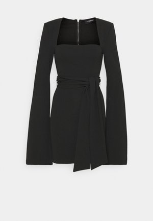 THE BAD INFLUENCE DRESS - Jersey dress - black