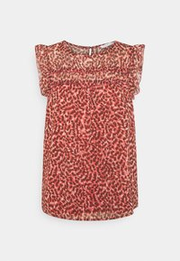ONLY - ONLMARGUERITE CAPSLEEVE  - Print T-shirt - faded rose/sunset - 0