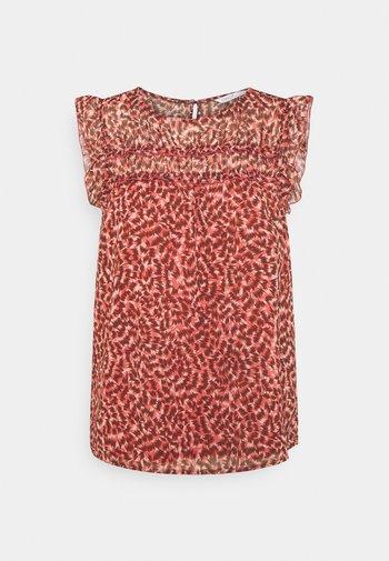 ONLMARGUERITE CAPSLEEVE  - Print T-shirt - faded rose/sunset