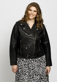 No.1 by Ox - Leather jacket - black - 0