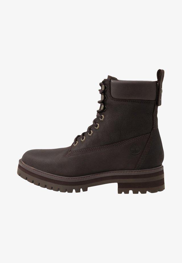 COURMA GUY BOOT WP - Botines con cordones - dark brown