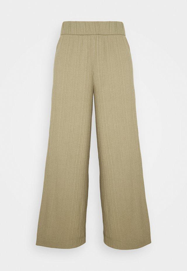 CILLA TROUSERS - Pantalones - khaki green/medium dusty