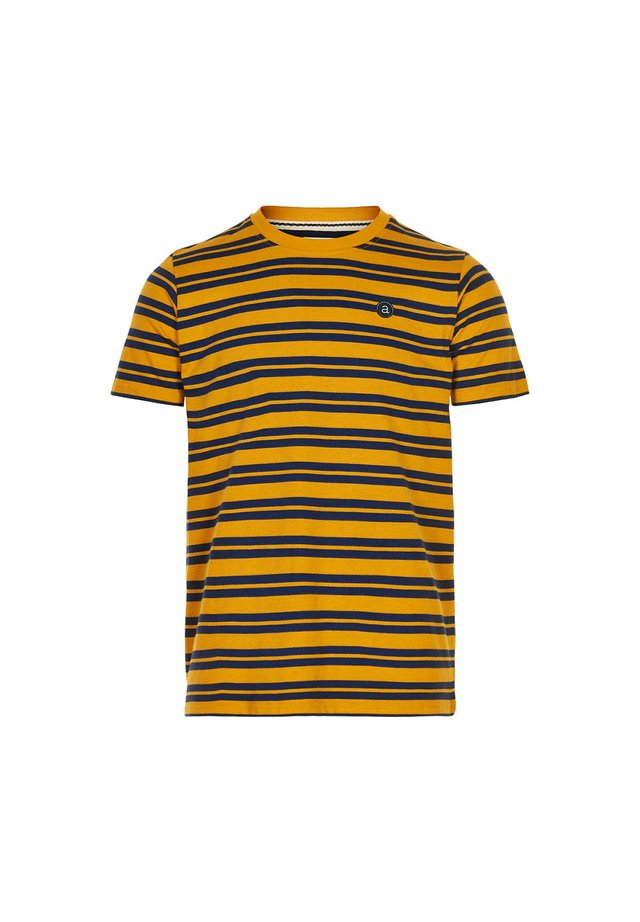 AKROD  - T-shirt print - yellow