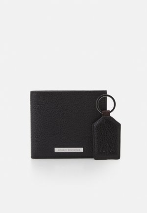 SMALL LEATHER GOODS SET - Wallet - cafe/dark brown