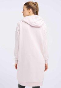 DreiMaster - Zip-up hoodie - powder pink melange - 2
