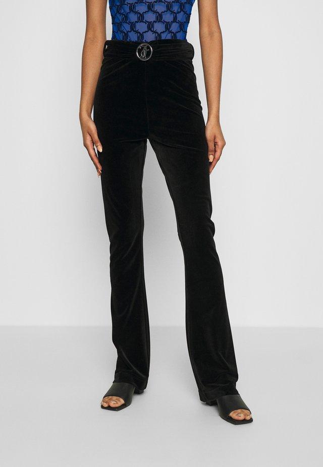 HALLE TROUSERS - Pantalon classique - black