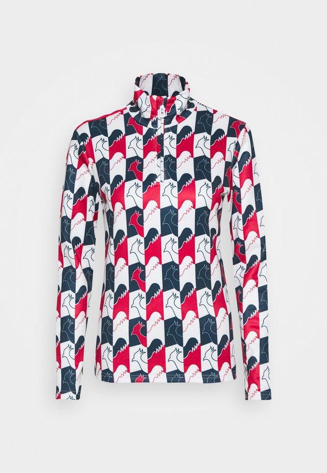 PALMARES ZIP - Camiseta de manga larga - dark navy