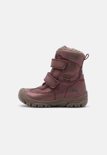 LINZ TEX - Winter boots - pink