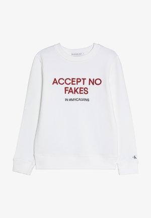 SLOGAN - Sweatshirts - white