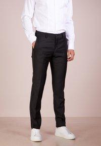 Tiger of Sweden - TERRISS TUXEDO PANTS - Suit trousers - black - 0
