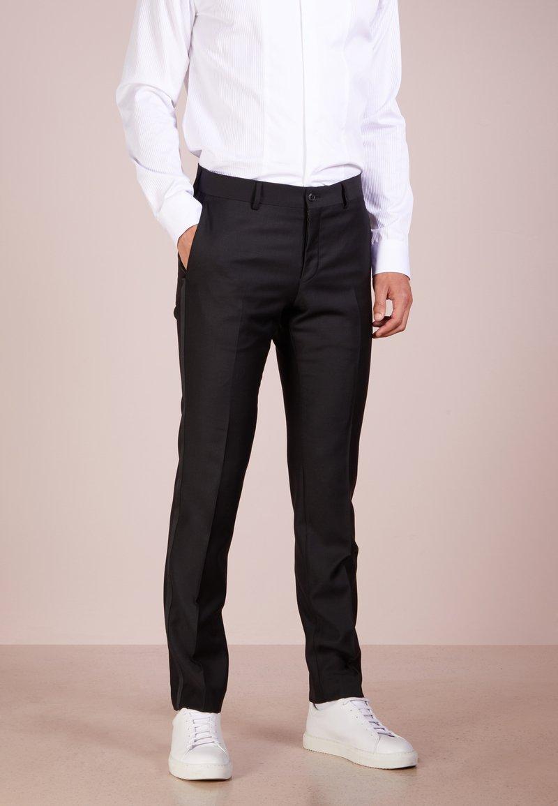 Tiger of Sweden - TERRISS TUXEDO PANTS - Suit trousers - black