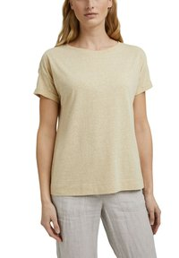 Esprit - PER COO CLOUDY - Basic T-shirt - sand - 7