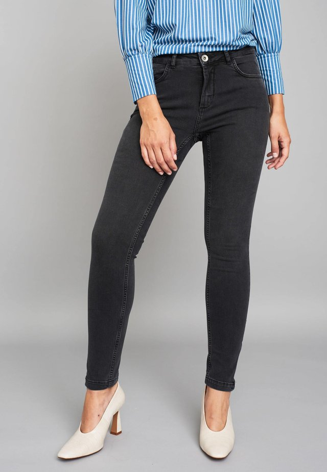 ALPHA - Jeans Skinny Fit - anthracite