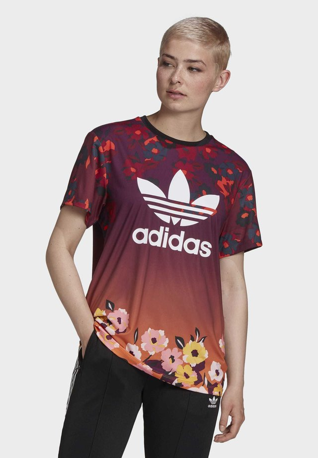 HER STUDIO LONDON LOOSE T-SHIRT - T-shirt con stampa - multicolour