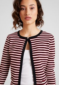 Morgan - Cardigan - rouge/off white - 4