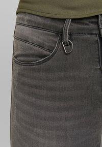 ONLY - ONLROYAL BIKER - Jeans Skinny Fit - dark grey denim - 3
