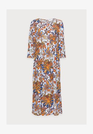 DRESS LONG WITH PRINT - Maxi šaty - light blue