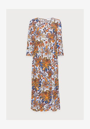 DRESS LONG WITH PRINT - Maxikjole - light blue