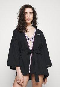 Moschino Underwear - NIGHT GOWN - Badjas - black - 0