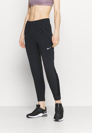 PANT COOL - Pantalones deportivos - black/reflective silver