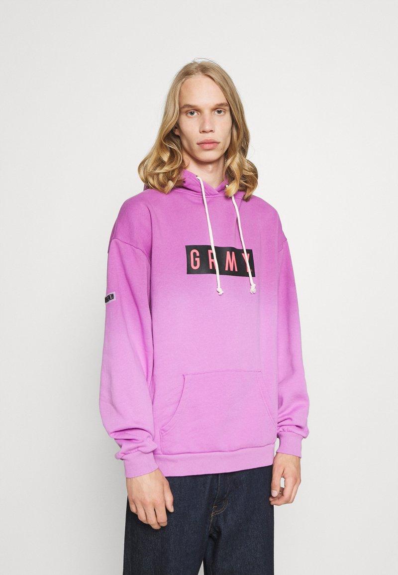 Grimey - FRENZY GRADIENT HOODIE UNISEX  - Sweatshirt - purple
