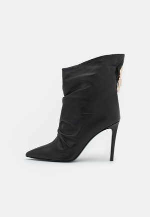 Korte laarzen - black/antique gold