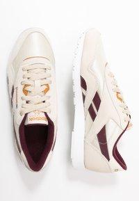 Reebok Classic - CLASSIC  - Sneakersy niskie - alabas/maroon/ricoch - 3