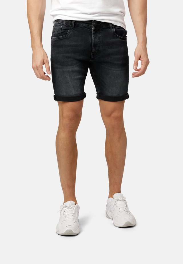 Jeansshorts - anthracite