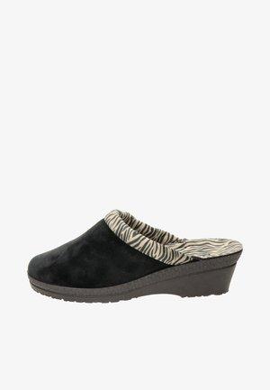 DAMES PANTOFFEL - Clogs - zwart