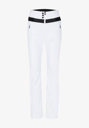BORJA - Outdoor trousers - weiß
