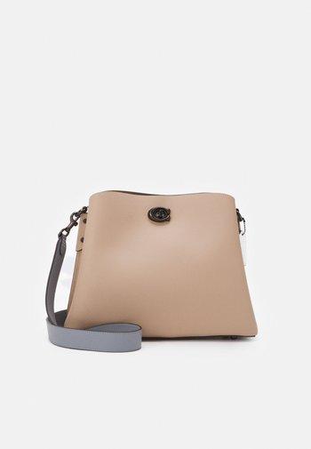 POLISHED WILLOW SHOULDER BAG ADJUSTABLE - Handbag - taupe/multi