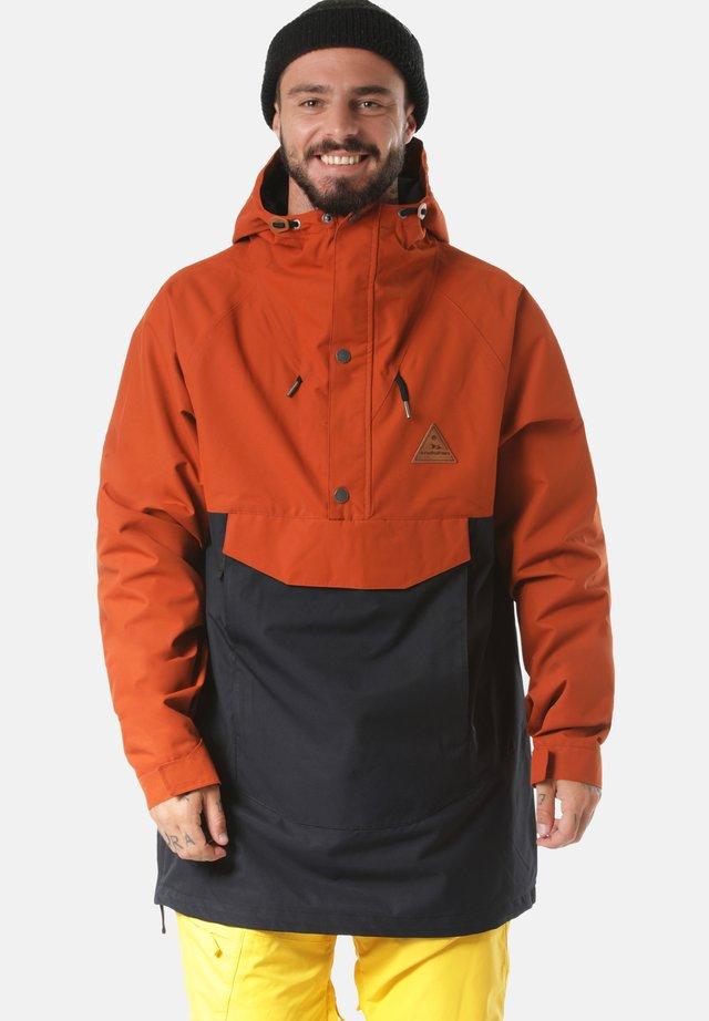 Snowboard jacket - orange/black