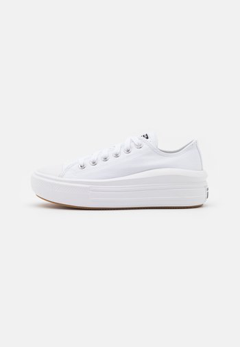 CHUCK TAYLOR MOVE PLATFORM - Sneakers basse - white