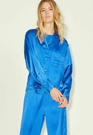 JXEVA - Button-down blouse - blue iolite