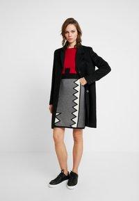 Selected Femme - SLFSASJA COAT - Classic coat - black - 1