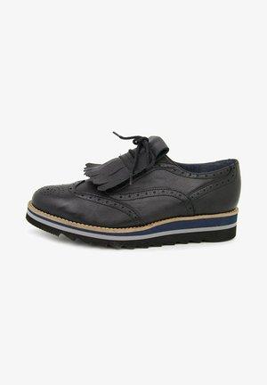 ADELAIDE  - Zapatos con cordones - black