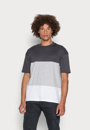JCOPOKE CREW NECK - T-shirt print - dark grey melange
